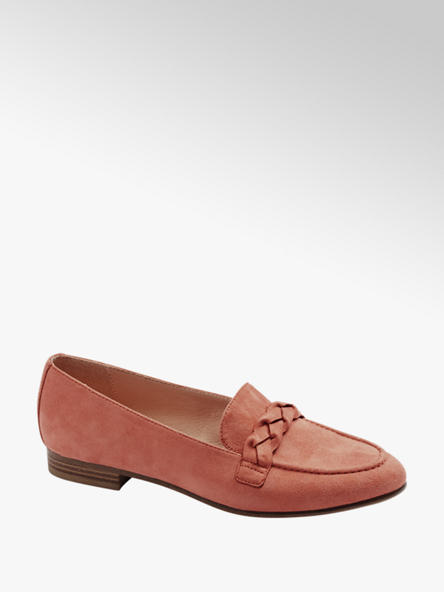 Graceland Coral Plait Detail Loafers