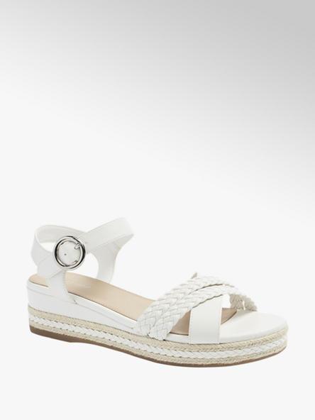 Graceland Дамски бели сандали Graceland