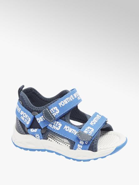 Bobbi-Shoes Детски сини сандали с велкро Bobbi-Shoes