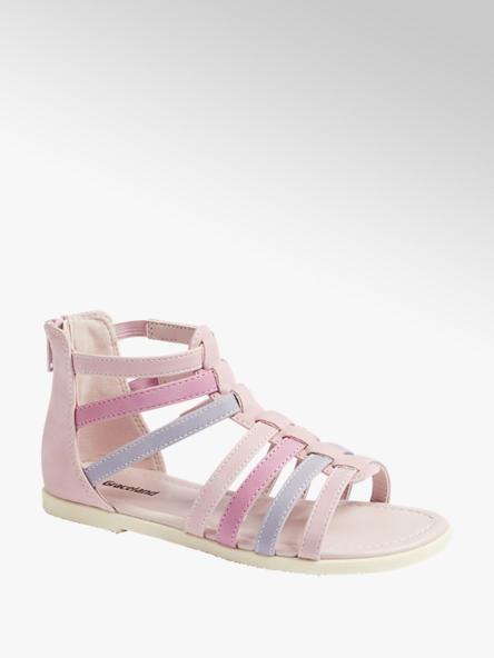 Graceland Детски розови сандали с цип Graceland