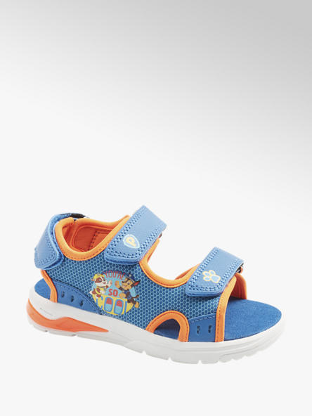 PAW PATROL Детски сини сандали с велкро PAW PATROL