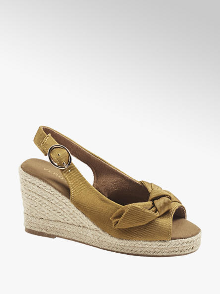 Vero Moda Дамски тютюнени сандали с палтформа Vero Moda