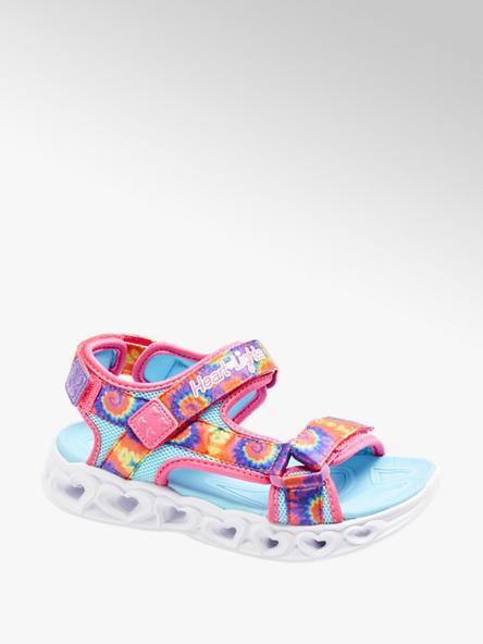 Skechers Multicolor sandaal klittenband