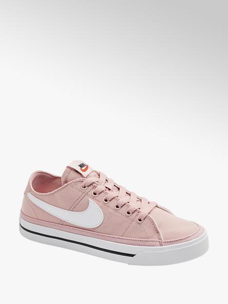 NIKE Дамски розови текстилни кецове NIKE COURT LRGACY CANVAS