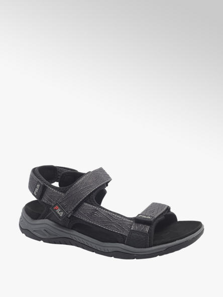Fila Grijze sandaal klittenband