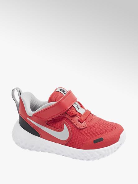 NIKE czerwone sneakersy dziecięce Nike Revolution 5