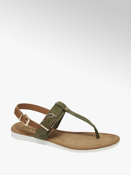 Esprit Дамски каки сандали Esprit