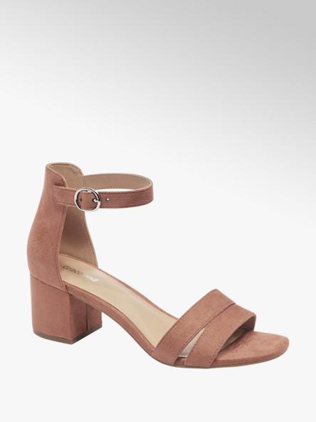 Graceland Rode sandalette