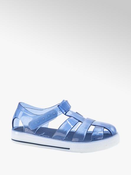 Blue Fin Blauwe waterschoen klittenband