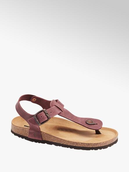 Romika  Bordeaux rode leren sandaal
