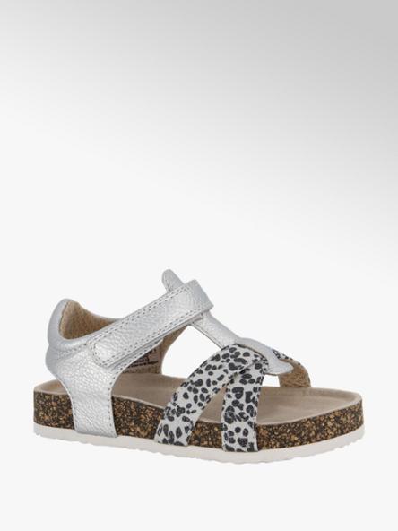 Cupcake Couture Zilveren sandaal klittenband