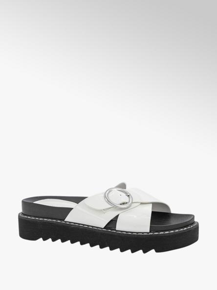Oxmox Witte slipper lak