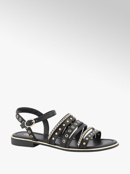 Oxmox Zwarte sandaal