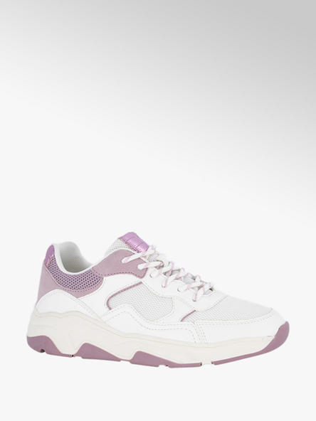 Oxmox Witte sneaker mesh