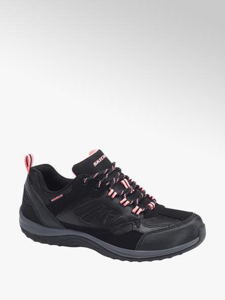 Skechers Zwarte wandelschoen