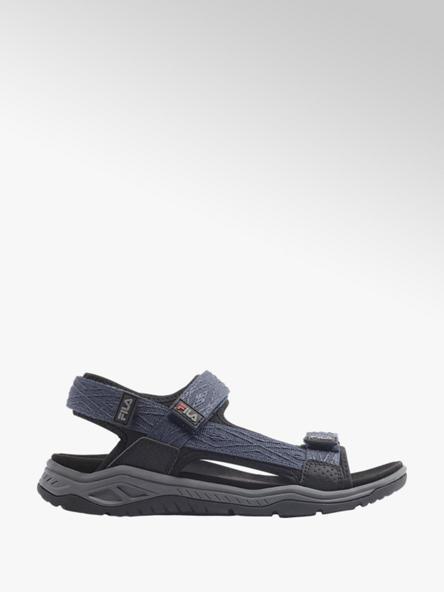 Fila Blauwe sandaal klittenband