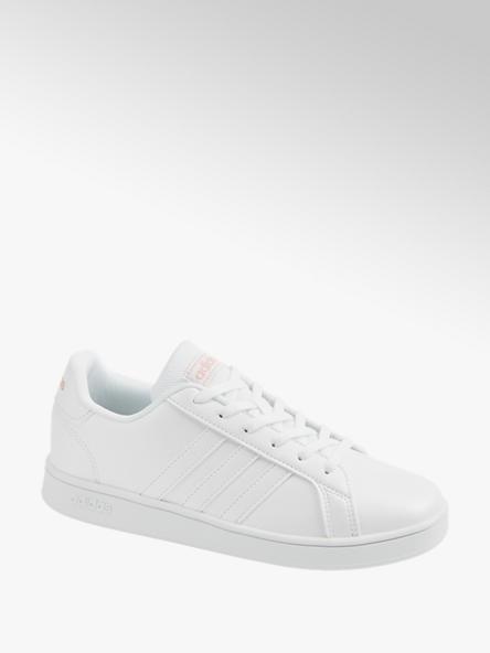 adidas Детски бели сникъри adidas GRAND COURT K