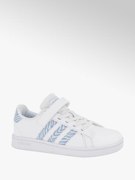 adidas Witte Grand Court C klittenband