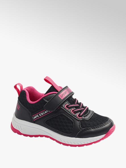 Cupcake Couture czarno-różowe sneakersy dziewczęce Cupcake Couture