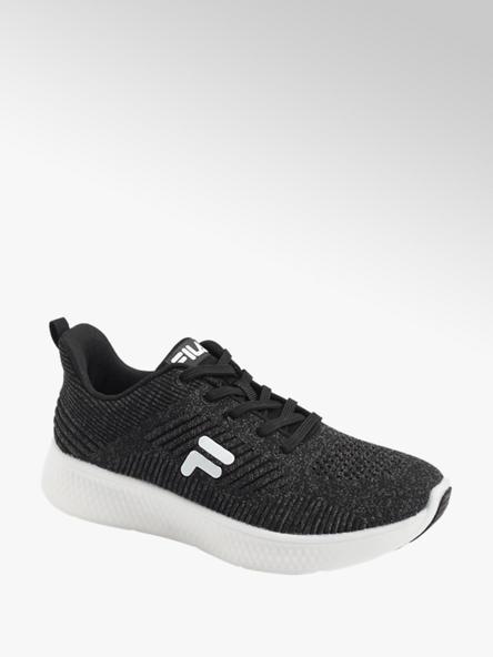 FILA Zwarte sneaker knitted