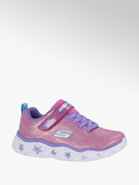 Skechers Roze sneaker lichtjes