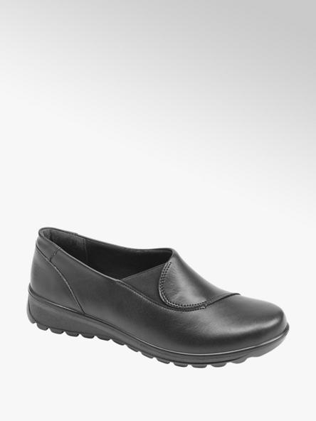 Easy Street Дамски черни комфортни обувки Easy Street