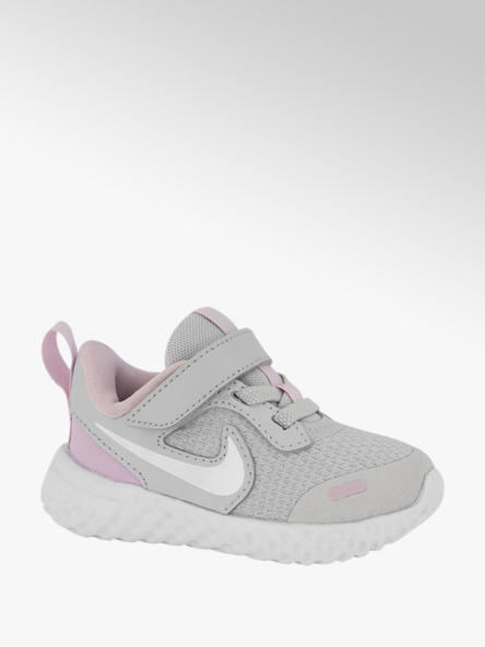 Nike Lichtgrijze Revolution 5