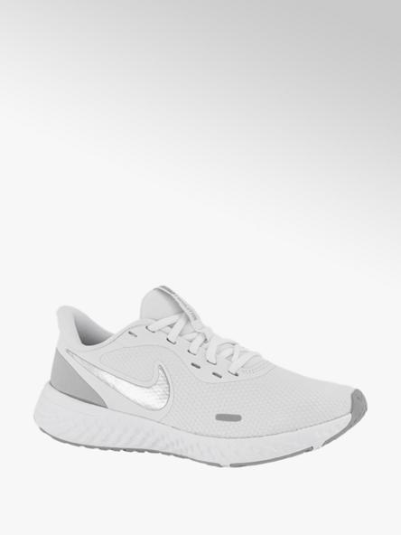 Nike Witte Revolution 5 Metallic
