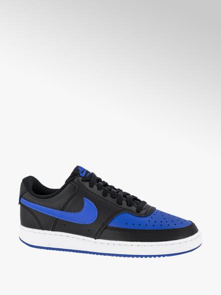 Nike Zwarte Court Vision Low
