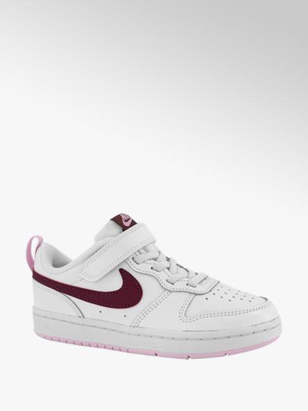 Nike Witte Court Borough Low velcro