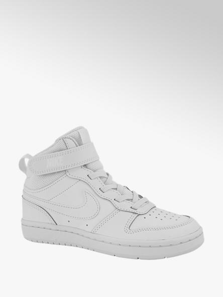 Nike Witte Court Borough Mid klittenband