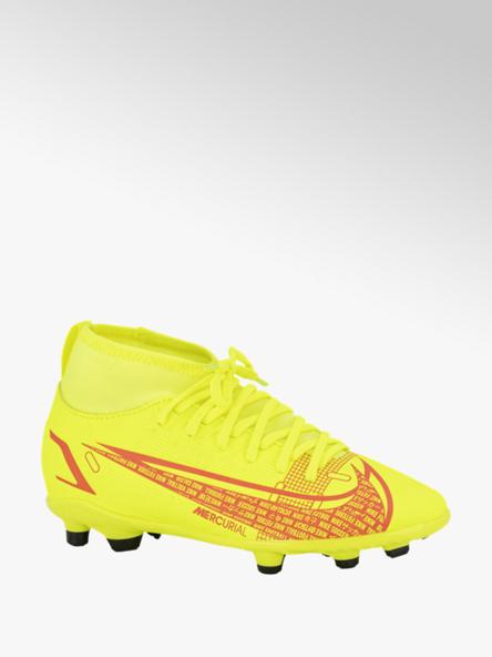 Nike Gele Mercurial Superfly 8 voetbalschoen