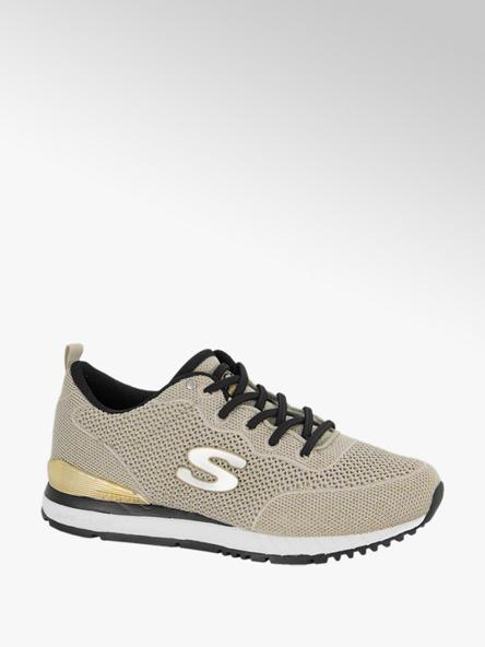 Skechers Goudkleurige sneaker Memory Foam
