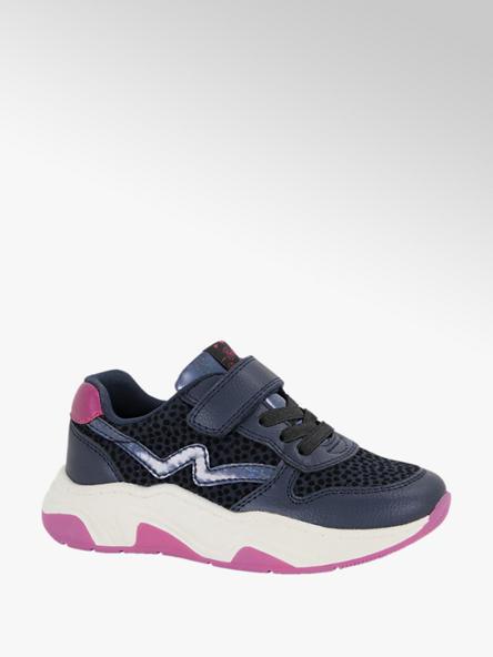 Cupcake Couture Blauwe sneaker stippen