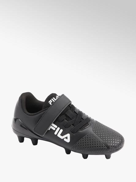 Fila Zwarte voetbalschoen