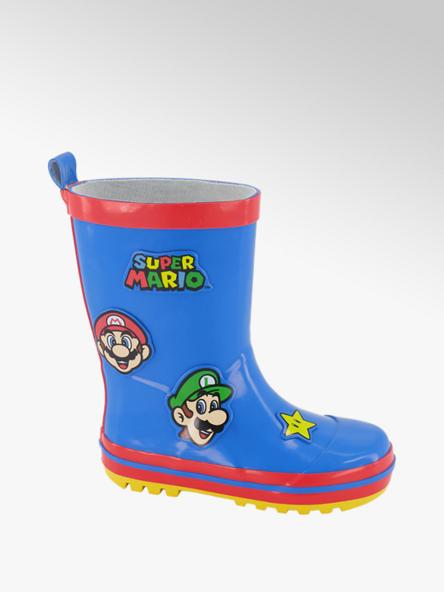 Super Mario Kobalt blauwe Super Mario regenlaars