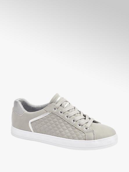 Esprit Grijze sneaker zilver
