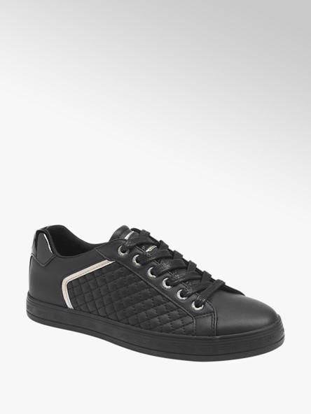 Esprit Zwarte sneaker zilver