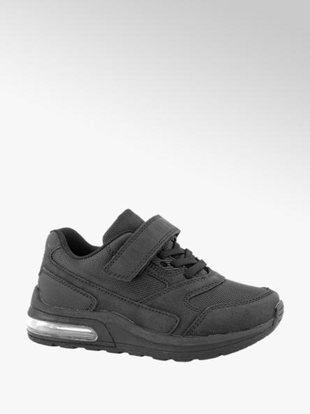 Vty Zwarte sneaker velcro