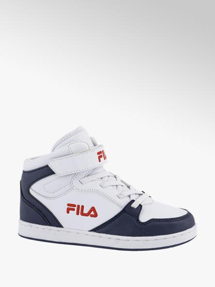 FILA Witte halfhoge sneaker