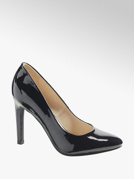 Graceland Sapato de salto verniz