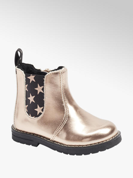 Cupcake Couture Gouden chelsea boot