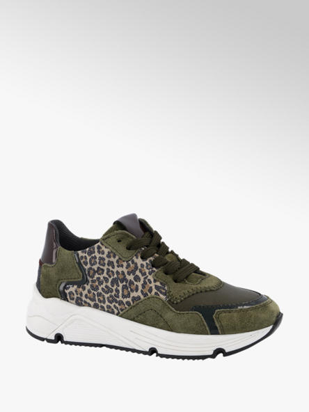 Limelight girl Groene suède sneaker