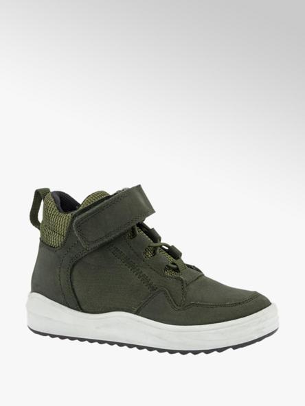 Victory Groene leren sneaker