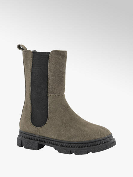 Limelight girl Taupe suède chelsea boot ritssluiting