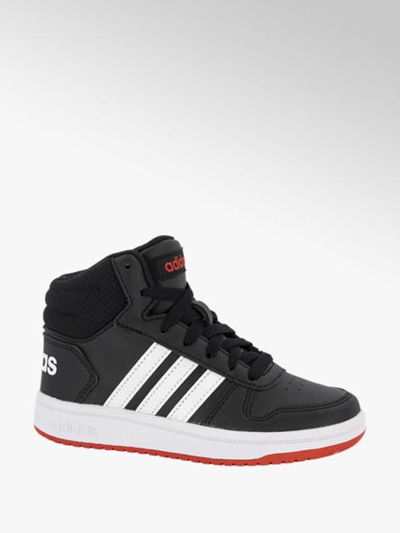 adidas Zwarte Hoops Mid 2.0 K
