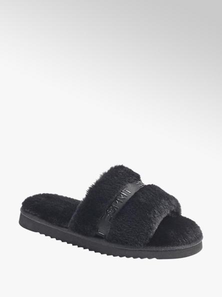 Esprit Дамски черни домашни чехли Esprit