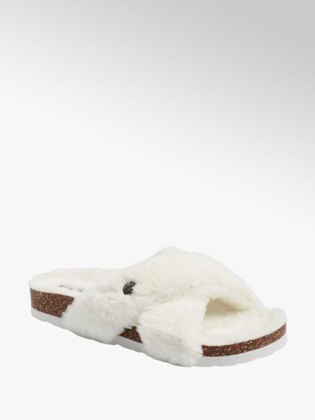 Esprit Дамски бели домашни чехли Esprit