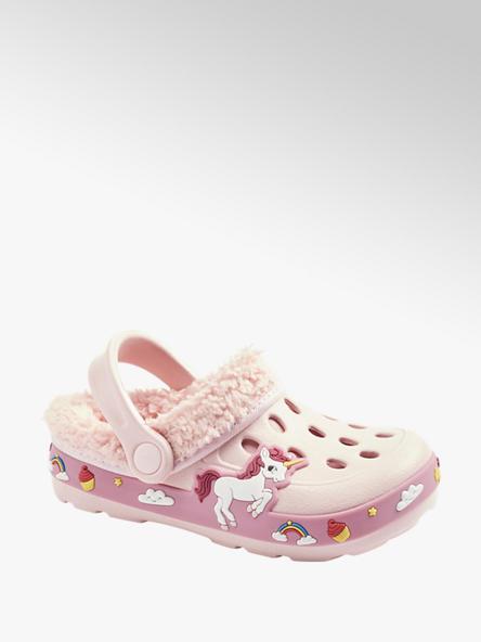 Cupcake Couture Roze clog warmgevoerd