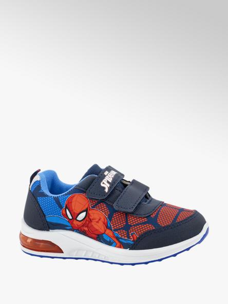 Spiderman Blauwe sneaker klittenband